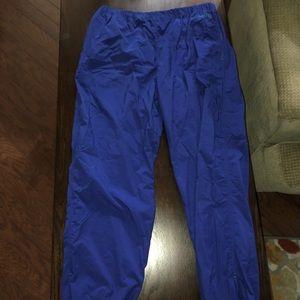 Vintage 90s Nautica Nylon blue pants XL